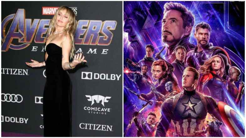 Avengers Endgame: Thor Actor Chris Hemsworth's Sister-in-Law Miley Cyrus Reviews the Superhero Movie