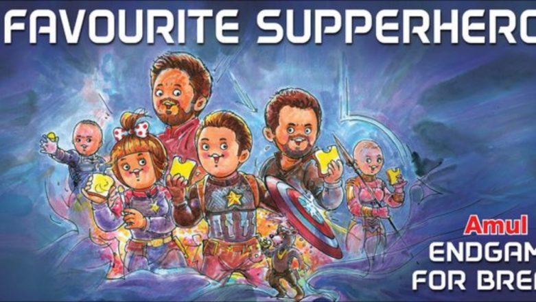 Avengers Endgame: Amul Dedicates Latest Topical to the Superhero Movie – See Pic