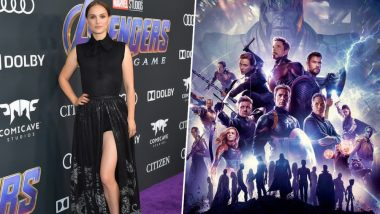 Natalie Portman Joins the Avengers Endgame Star Cast, We Mean at the Movie's Premiere in Los Angeles