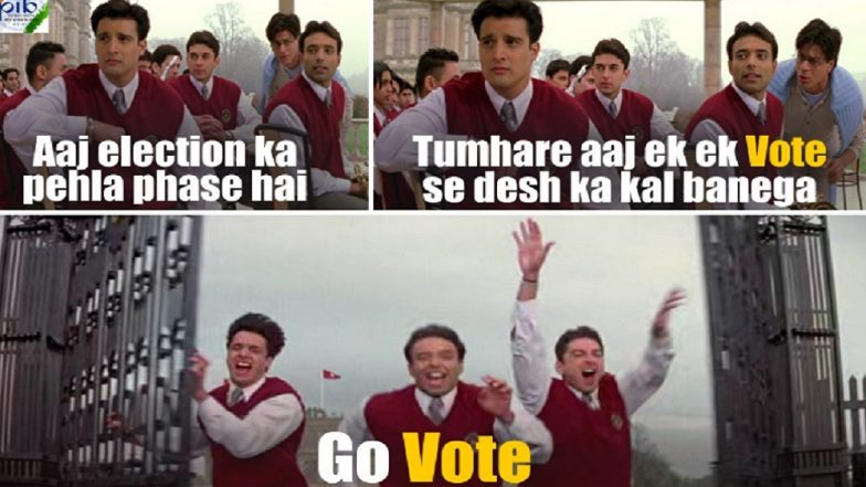 Lok Sabha Elections 2019: Govt Uses Stills From Shah Rukh Khan-Starrer 'Mohabbatein' to Promote Voting