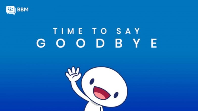 End of Road For BBM: Iconic BlackBerry Messenger Shutting Down on May 31; BBM Enterprise To Be Available For Individual Users