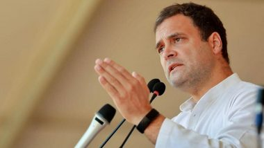 Rahul Gandhi Questions Modi Govt Over Military Standoff With China, Asks Centre to Confirm That No Chinese Soldiers Entered India