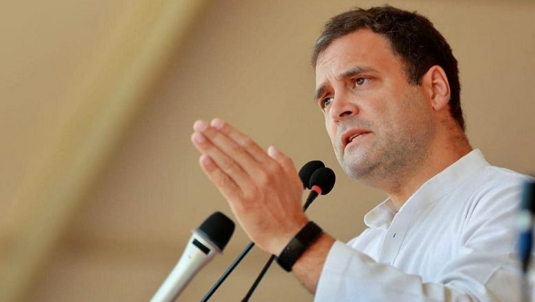 Lok Sabha Elections 2019: Will Decide on Prime Minister's Post After Results Are out on May 23, Says Rahul Gandhi