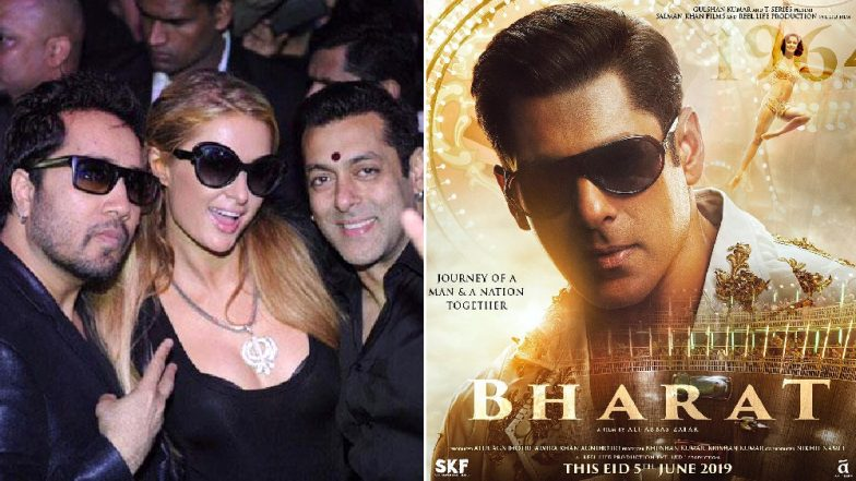 After Paris Hilton Comments on Salman Khan's Bharat Poster, Pic of Heiress Wearing Mika Singh's Diamond Necklace Gifted by the Actor Surfaces