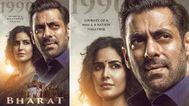 Bharat New Poster: Salman Khan and Katrina Kaif's Smiles Speak Volumes of Unspoken Sadness – View Pic
