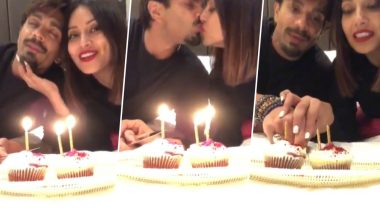 Bipasha Basu and Karan Singh Grover Celebrate Their Third Wedding Anniversary in London; Kisses and Cupcakes Are a Part of Celebration – Watch Video