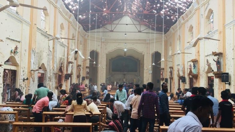 Multiple blasts in Sri Lanka, churches hit during Easter Sunday mass