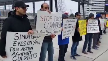 Canada: Sindhi Community Protests in Mississauga Against Forced Conversions of Hindu Girls in Pakistan