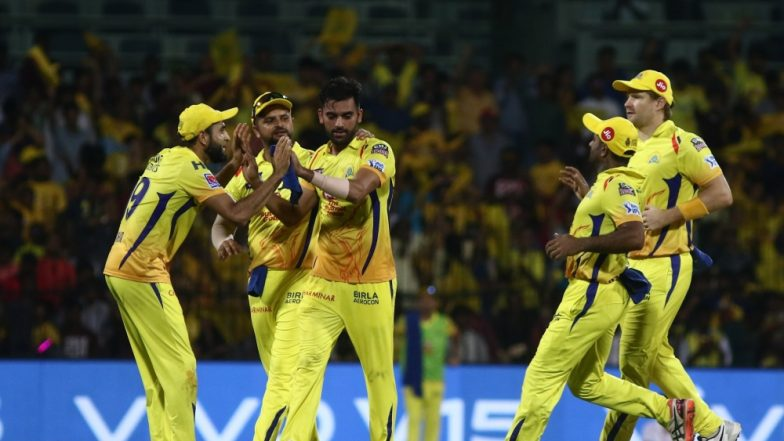 CSK vs KKR, Toss and Playing XI Live Updates: MS Dhoni Wins the Toss, Elect to Bowl (Watch Video)