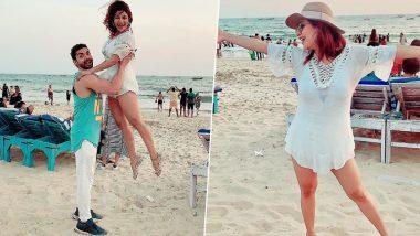 Debina Bonnerjee Rings in Her Birthday With Hubby Gurmeet Choudhary in Goa – View Pics