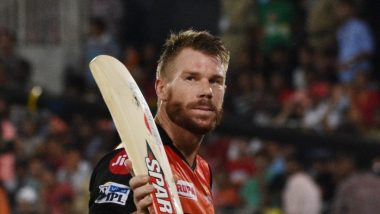 Sunrisers Hyderabad's David Warner Posts Heartfelt Note for Orange Army As He Bids Farewell From IPL 2019 (View Pics & Video)