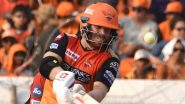 Sunrisers Hyderabad vs Royal Challengers Bangalore Betting Odds: Free Bet Odds, Predictions and Favourites in SRH vs RCB Dream11 IPL 2020 Match 3
