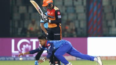 DC vs SRH Stat Highlights IPL 2019: Sunrisers Hyderabad Complete Hat-trick of Wins, Beat Delhi Capitals