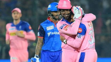 RR vs DC, Stat Highlights: Rishabh Pant's 78 Unbeaten Helps Delhi Capitals Beat Rajasthan Royals by Six Wickets (Watch Video)