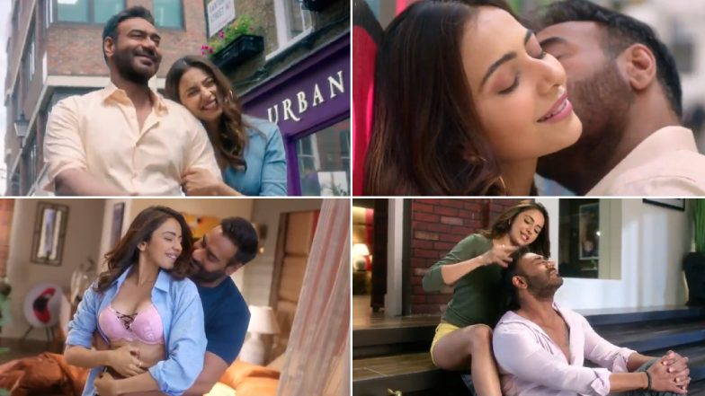Tu Mila To Haina Teaser: Ajay Devgn and Rakul Preet Get All Romantic and Cosy in De De Pyaar De's New Song Releasing Tomorrow