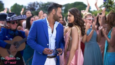 De De Pyaar De Song Vaddi Sharaban: Ajay Devgn-Rakul Preet's Vibrant Number Will Get You Grooving! Watch Video