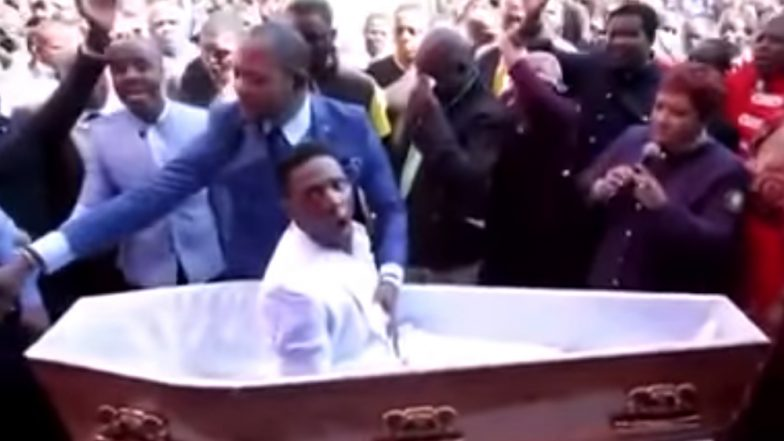 Man Who Rose From the Dead Months Ago Dies Again! Zimbabwean Who was 'Resurrected' in a Prank Passes Away For Real (Watch Video)
