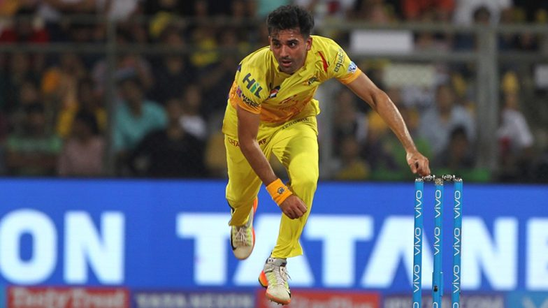 CSK Pacer Deepak Chahar Shares His Bowling Plan Ahead of RR vs CSK Match IPL 2019 (Watch Video)