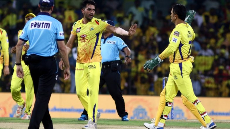 Will MS Dhoni's 'Reference' Help CSK Pacer Deepak Chahar Seal a Place in the Indian Squad for ICC Cricket World Cup 2019?