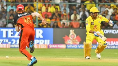 RCB vs CSK Stat Highlights: MS Dhoni Becomes First Indian To Hit 200 Sixes in IPL, Royal Challengers Bangalore Register Rare Win Over Chennai Super Kings