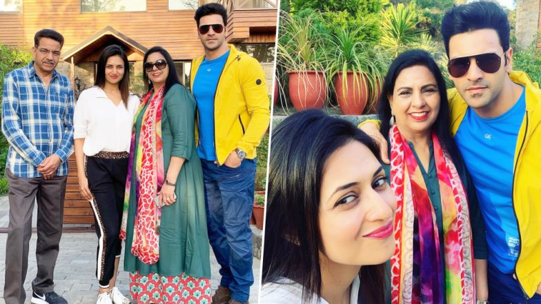 After Hina Khan, Divyanka Tripathi and Vivek Dahiya Spend Quality Time With Family in Their Hometown - View Pics