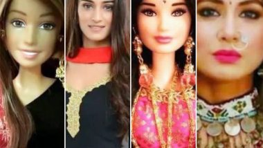 After Taimur Ali Khan, Hina Khan, Erica Fernandes and Pooja Banerjee Have Dolls Fashioned on Their Looks in Kasautii Zindagii Kay 2 – View Viral Pics