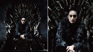 Game Of Thrones Season 8: Not Daenerys or Cersei, Kasautii Zindagii Kay 2's Prerna aka Erica Fernandes Sits on the Iron Throne - View Pic!