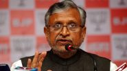 Sushil Kumar Modi Tests Positive for COVID-19, Bihar Deputy Chief Minister Admitted to AIIMS Patna