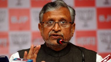Sushil Kumar Modi Tests Positive for COVID-19, Admitted to AIIMS Patna