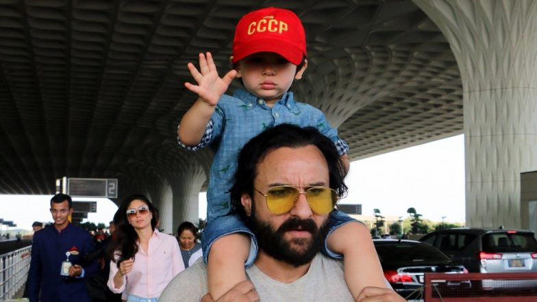 Saif Ali Khan Lashes Out at Paparazzi for Clicking Taimur Ali Khan, Says 'Stop It, My Child Will Go Blind'