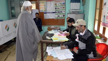Jammu and Kashmir Lok Sabha Elections 2019: Voting Ends Peacefully in Jammu, Baramulla Seats; 54.5% Voter Turnout Recorded