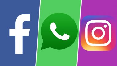 WhatsApp, Facebook Remain Down, Users Unable to Share or Download Photos And Voice Messages; Instagram Recovers