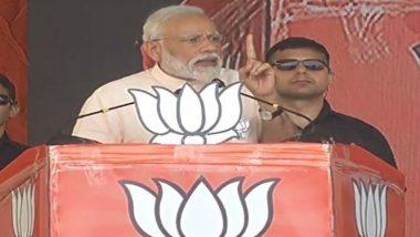 Lok Sabha Elections 2019: PM Narendra Modi Compares Andhra Pradesh CM Chandrababu Naidu to Bhallala Deva of 'Baahubali'