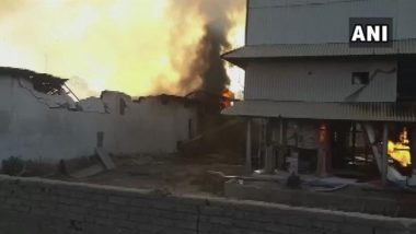 Gujarat: Fire Reported in Oil Mill in Banaskantha's Chandisar area; No Casualties Reported