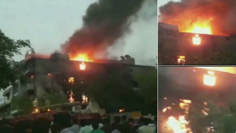 Delhi: Fire Breaks Out at Chemical Factory in Shahdara Factory