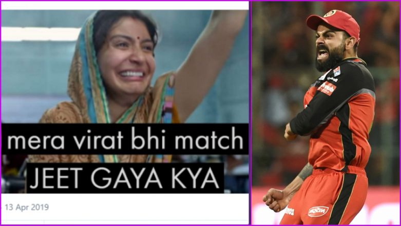No End to Funny RCB Memes Despite Virat Kohli and Co's First Win of the IPL 2019