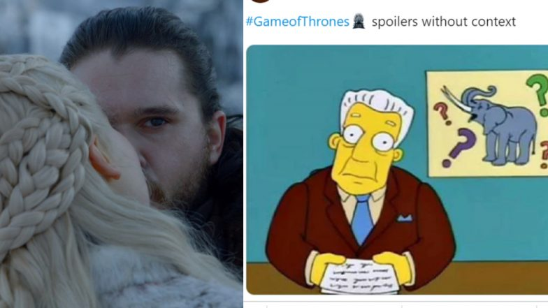 Game of Thrones Spoilers without Context: Internet Comes Together for Inside Jokes on Jon Snow and Daenerys Targaryen – Read Tweets