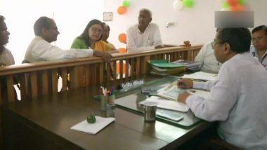 Maneka Gandhi Files Her Nomination from Sultanpur Lok Sabha Constituency in Uttar Pradesh