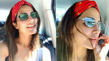 Hina Khan Nails the Style Game With This Casual Chic Look in Her Latest Instagram Picture