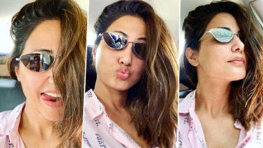Hina Khan Aka Komolika of Kasautii Zindagii Kay 2 Gives Us the Perfect Friday Vibes in Her Latest Instagram Picture