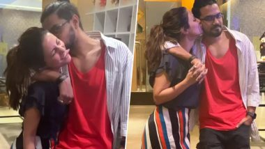 Hina Khan Kissing Boyfriend Rocky Jaiswal in This Latest Instagram Picture Is Sheer Couple Goals