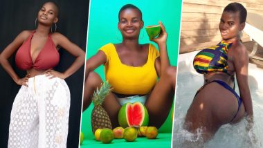 Big-Boobs Instagram Model, Pamela Odame Watara Claims Influential People Ready to Pay $1000 to Touch Her Huge Breasts; Check Out Hot Videos
