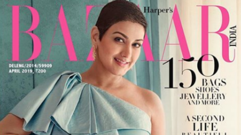 Sonali Bendre Sparkles On Harper's Bazaar India Cover And We Whistle For The Grit and Glamour On Offer!