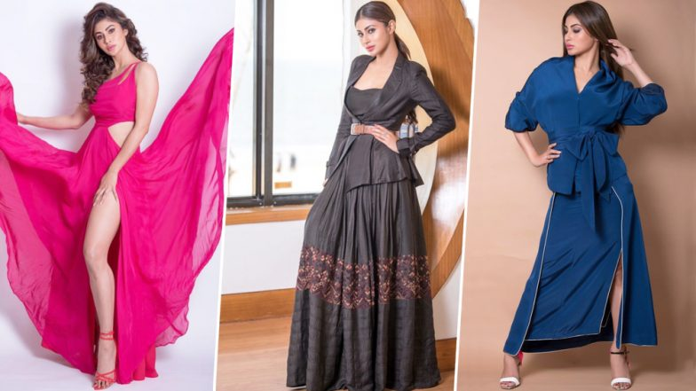 Mouni Roy's Style File for RAW Promotions was a Mix of Unconventional Silhouettes and Bright Colour Palette - View Pics