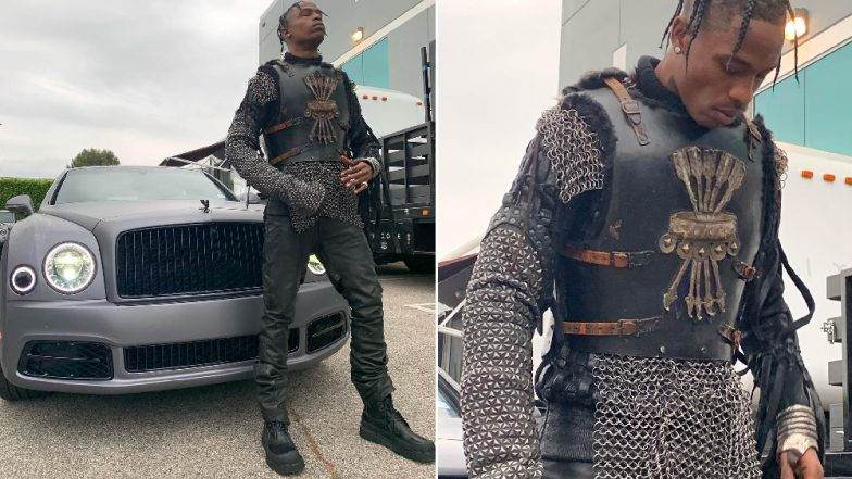 Travis Scott Dresses as a Game Of Thrones Knight, Kylie Jenner Calls Him the 'Protector of her Realm' in a Cute Instagram Post