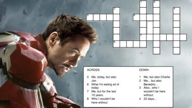 Did You Spot the Avengers: Endgame Hint in Robert Downey Jr's Birthday Crossword?