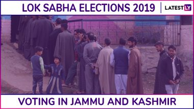 Jammu And Kashmir Lok Sabha Elections 2019: Phase 3 Voting Underway for Anantnag Parliamentary Constituency, Turnout of 9.63% Till 2:30 PM