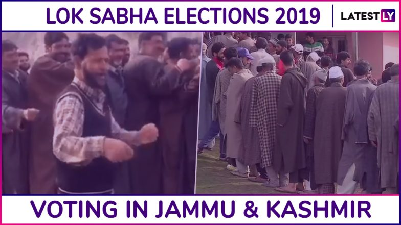 Jammu and Kashmir Lok Sabha Elections 2019: 54.59% Voter Turnout Recorded In Baramulla And Jammu, Phase 1 Voting Concludes