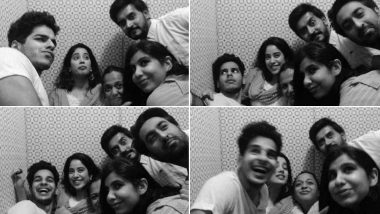Janhvi Kapoor Shares an Adorable Picture of Her 'Forever Fam' and Yes, Ishaan Khatter is a Part of It!