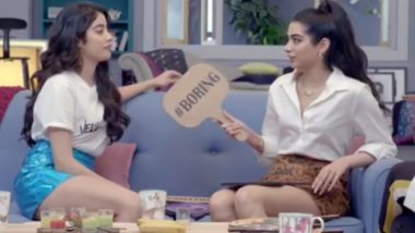 Janhvi Kapoor Used to Drink Milk from a Bottle Until She Was 12, Reveals Her Sister Khushi – Watch Video